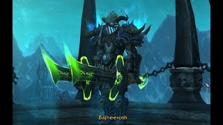 Bajheera - FROST DK 15v15 AoE MADNESS - WoW Legion 7.3 Death Knight PvP