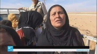 شهادات نازحين من معركة تحرير الرقة
