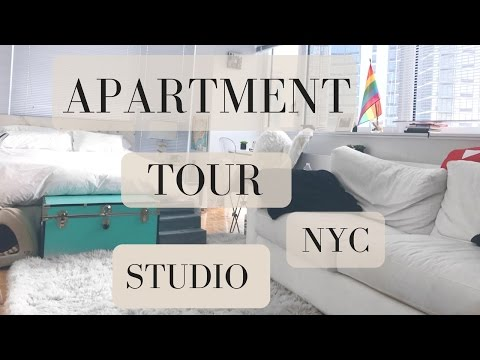 APARTMENT TOUR OUR STUDIO IN NYC