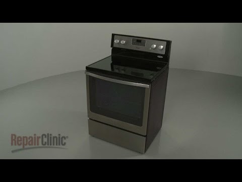 Whirlpool Electric Range Disassembly