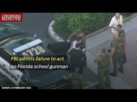 FBI admits failure to act on Florida school gunman