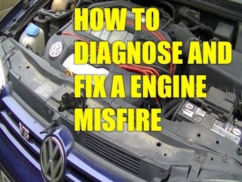 How to diagnose and fix a Engine Misfire