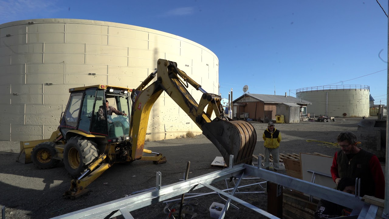 Videos from Kivalina Community Center Renovation Watch