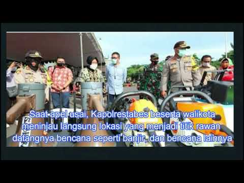 Surabaya Tanggap Bencana, Begini Kesiapan Polisi dan Wali Kota