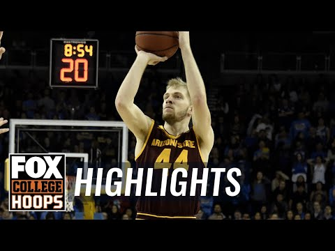 Kansas State vs Arizona State   Highlights   FOX COLLEGE HOOPS