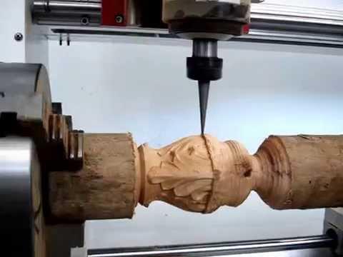 Фрезерно-гравировальный станок с ЧПУ WoodTec MH 6090 - YouTube