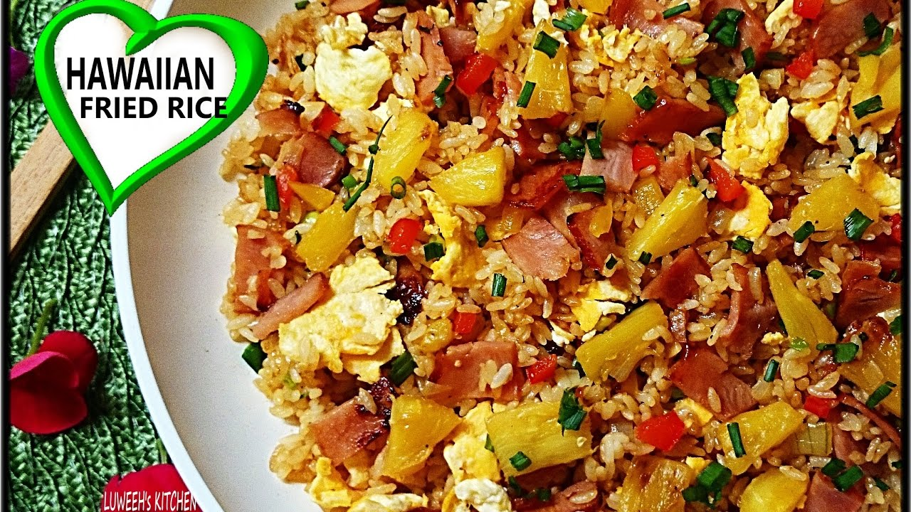Hawaiian fried rice youtube youtube premium ccuart Image collections