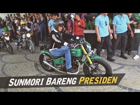 Riding Bersama Pak Jokowi Di Bandung #AtenxKatros