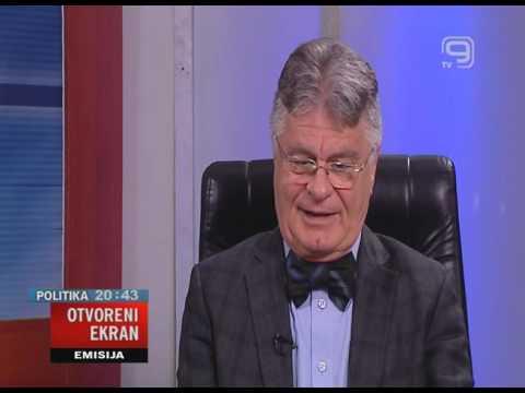 TV KANAL 9, NOVI SAD: OTVORENI EKRAN, 10.03.2016. Dejan Lučić