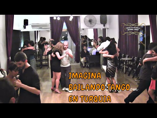 Istambul, Milongueando en Tangolic, Tango Turquia
