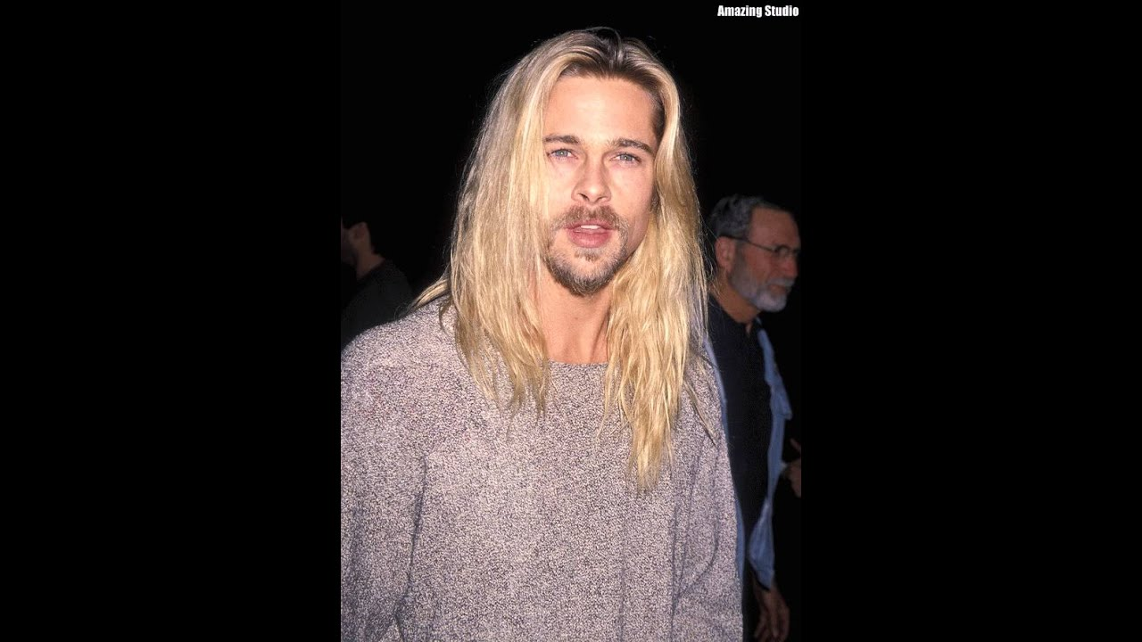 november kurt cobain haircut brad pitt