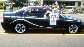 PR parade in Brentwood L.I. New york