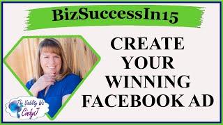 Erstellen Sie Ihre Gewinnende Facebook Ad mit Kristen Robinson