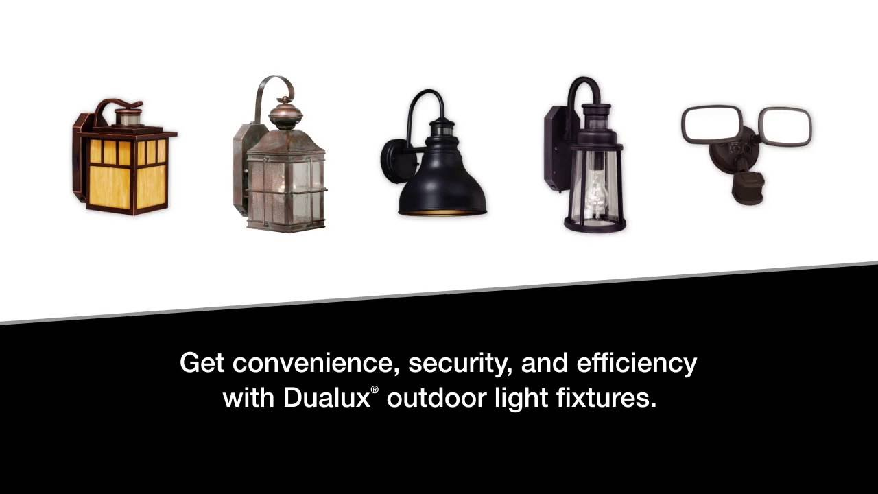 Smart Outdoor Lighting. Security Lights With Camera