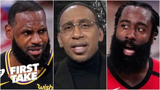 Stephen A. thinks James Harden is the key to stopping the Lakers from repeating | First Take