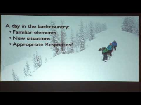 Developing Expert Intuition in the Backcountry by Blase Reardon