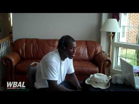 1090 AM WBAL Sportsline Interview of Baltimore Ravens Safety Ken Hamlin