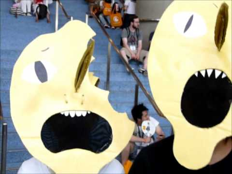 Lemongrab Adventure Time 2014 Anime Expo Youtube