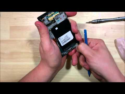 LG Optimus F3 Screen Replacement Reassembly - Battery Charge port Home button Camera Glass