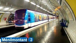 Métro de Paris : Ménilmontant | Ligne 2 ( RATP MF01 )