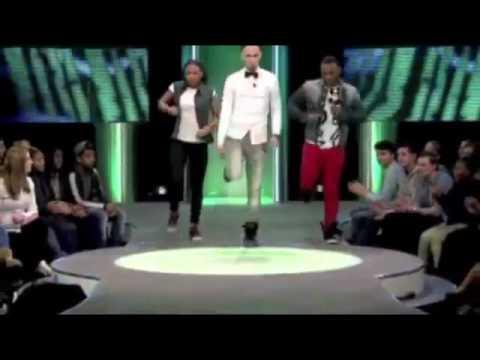 Best azonto dance (2014) White boy dances Azonto @ Dutch tv!!!