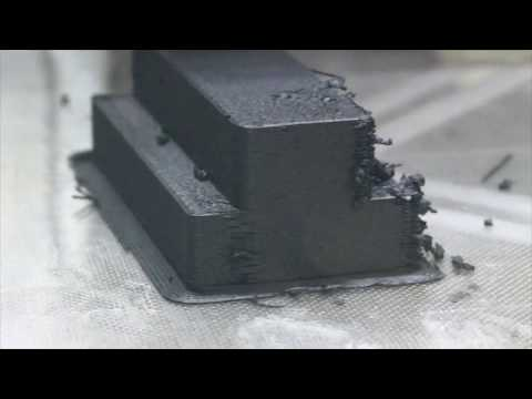 World's fastest 3D printing of plastics