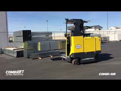 Combilift: COMBI-MR - Multi-directional Stand-on Reach Truck With Superb Maneuverability