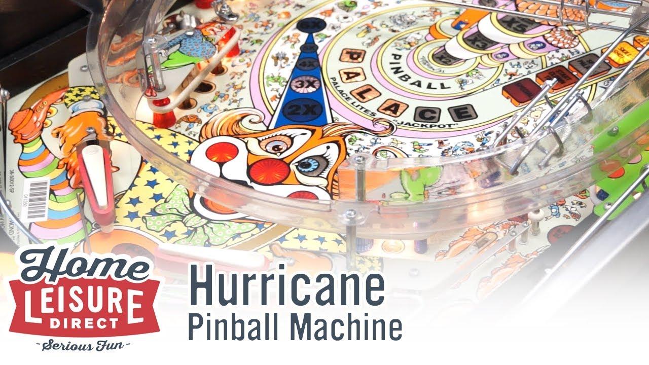 Hurricane Pinball Machine (Williams 1991)