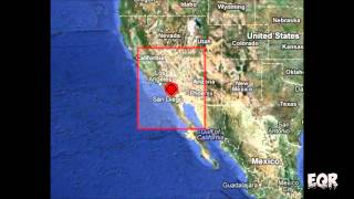Southern California Earthquake Swarm 08/26/12