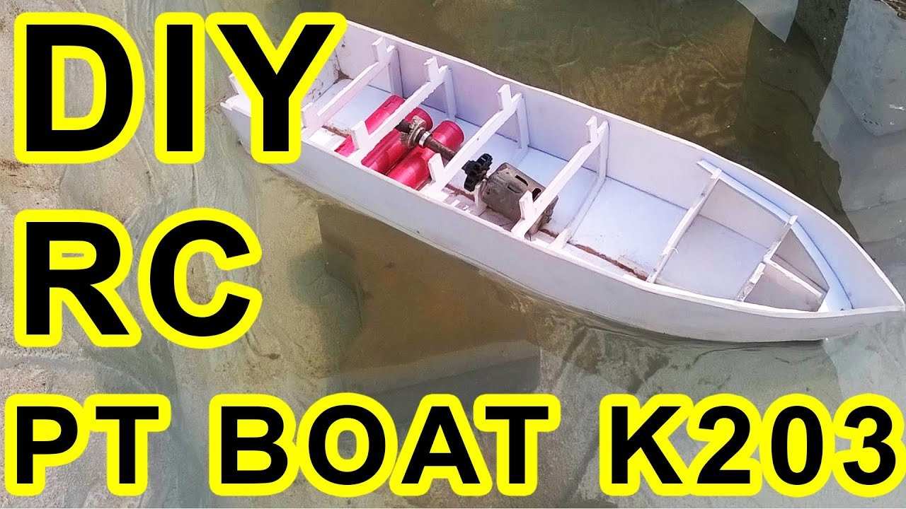 How to make an RC Boat with Brushed DC Motor? - Arnab Kumar Das