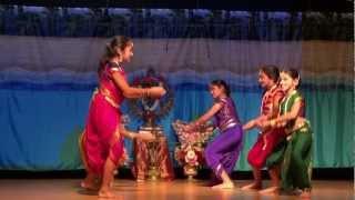 Poorvi Dinesh 11 years Dance - Indian Semi-Classical - Shiva Song