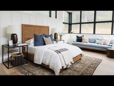 Modern Lake House Video Tour: The Bedroom Wing