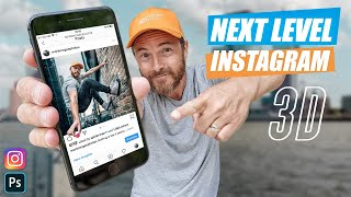 INSTAGRAM 3D POPOUT TUTORIAL - Photography Ideas (Full SHOOT & EDIT with Photoshop 2020)