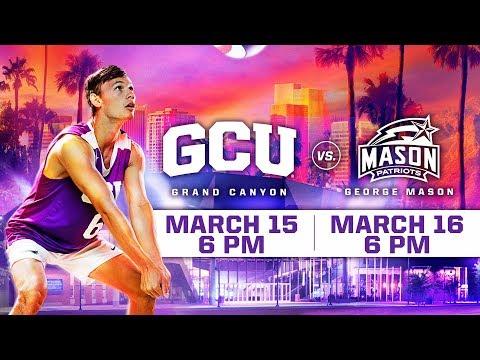 GCU Mens Volleyball vs. George Mason March 16, 2019