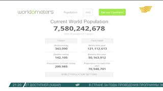 Население Земли превысило 7,5 млрд человек