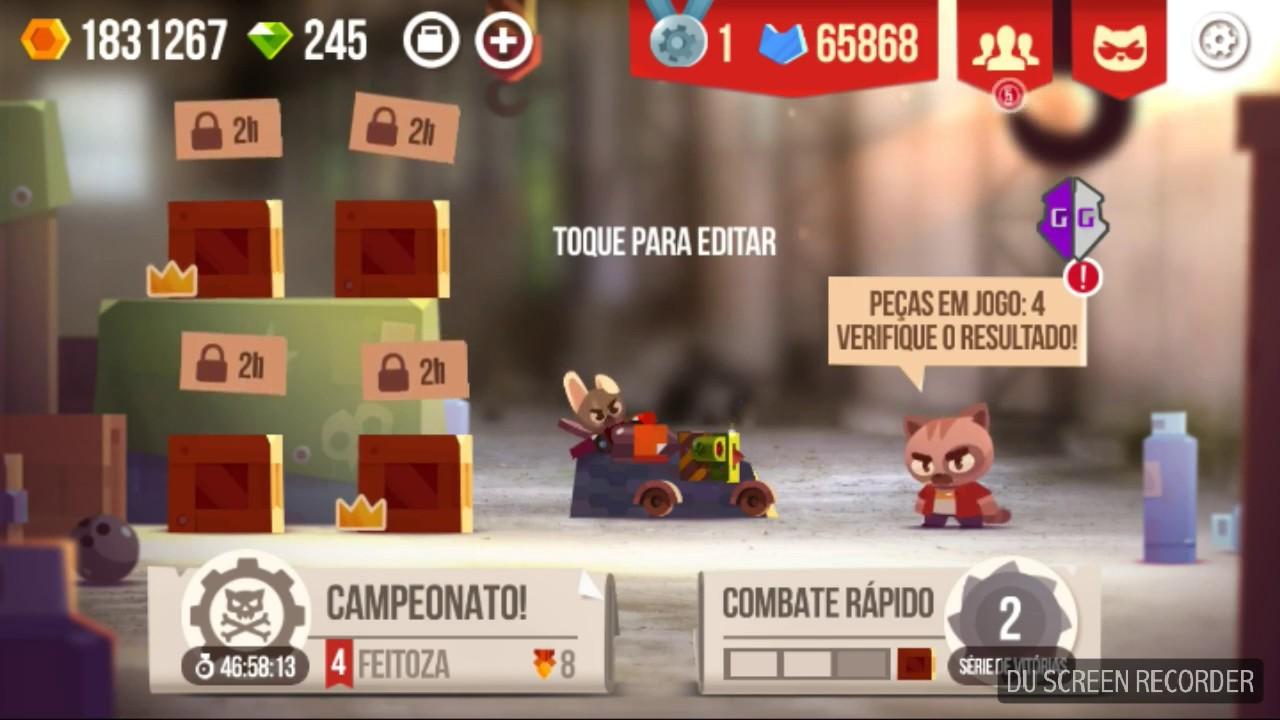 HACK PARA C A T S - FUNCIONANDO DEZEMBRO/2017 (PRECISA DE ROOT)