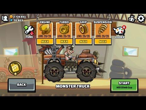 Survivor BUNDLE Monster Truck # New Update # Hill Climb Racing 2