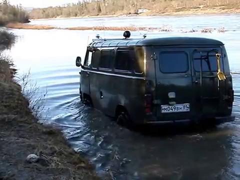 """UAZ - 452 ! УАЗ """"БуханкА"""" 4х4 !!! Проезжаем, заглох!!! Offroad turn ! Смотреть !!!"""