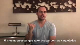 Eduardo Bolsonaro: segunda sem carne em SP.