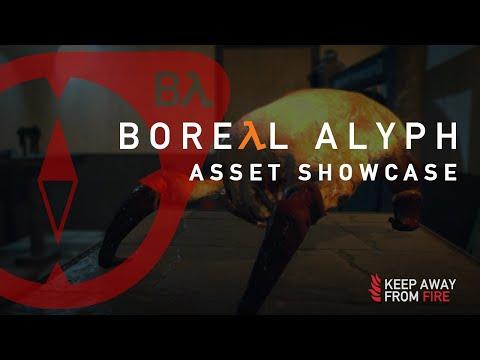 Boreal Alyph - Asset Showcase
