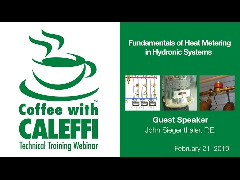 Fundamentals Of Heat Metering In Hydronic Systems