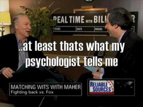 A CNN-Convenient Interview: Maher responds to Gutfeld
