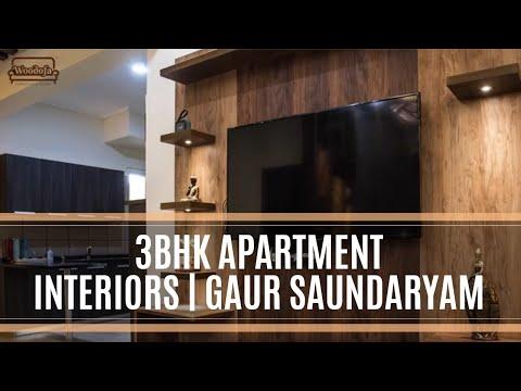 3bhk Apartment Interiors Gaur Saundaryam Greater Noida West Delhi Ncr 91 9315950993 Youtube