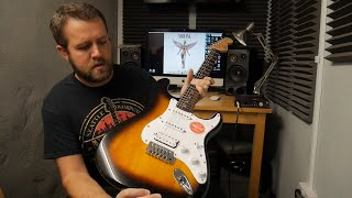 Unboxing Squier By Fender Bullet Strat HSS