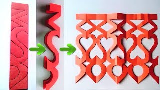 Easy Paper Cutting Craft Design