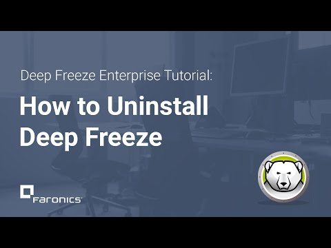 Video Cara Menghilangkan Deep Freeze 7 Lupa Password