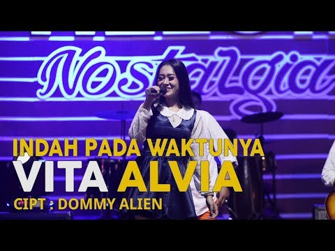 Vita Alvia - Indah Pada Waktunya (Official Music Video)