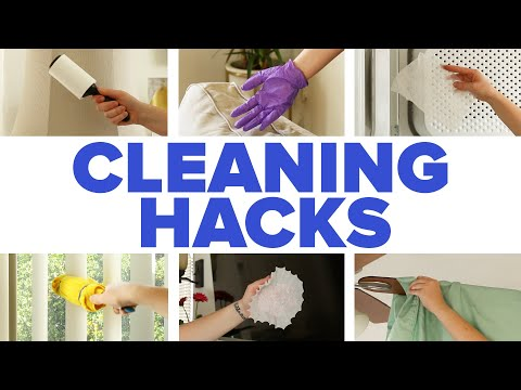 Why Didn't I Think Of These Cleaning Hacks?