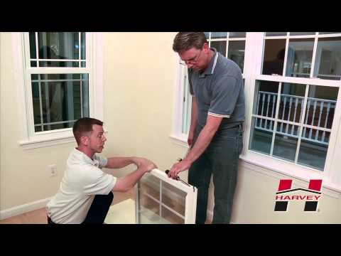 How to Replace the Sash on Your Harvey Double Hung Window
