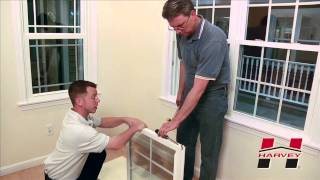 How to Replace the Pivot Bar on Your Harvey Double Hung Window